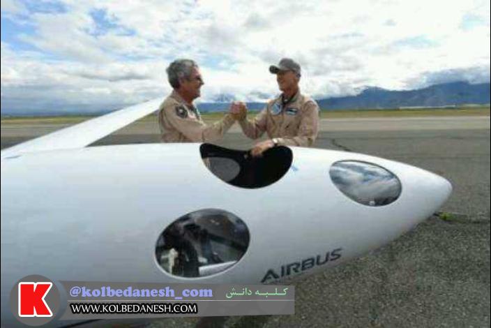 Photo of گلایدر فضایی به پرواز درآمد