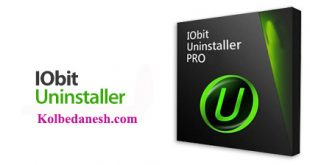 IObit uninstaller Pro - Kolbedanesh.com