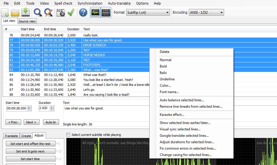 Photo of دانلود نرم افزار Subtitle Edit v3.5.4 – برنامه ایجاد و ویرایش زیرنویس