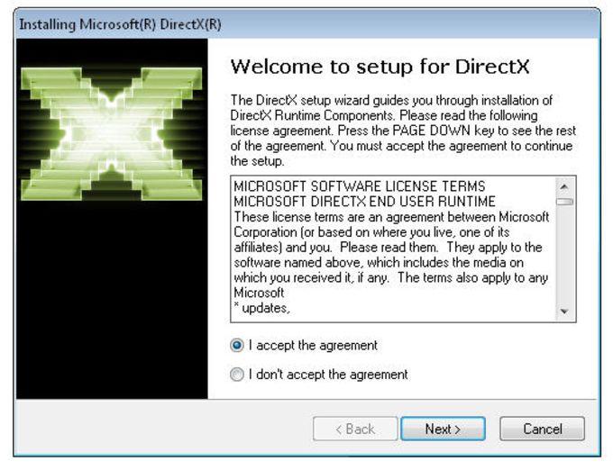 دانلود DirectX End-User Runtimes -بسته توزیع مجدد مایکروسافت دایرکتایکس