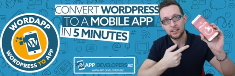 آموزش ساخت اپلیکشن اندروید در وردپرس با افزونه WordApp
